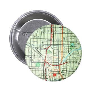 MILWAUKEE Vintage Map Pins