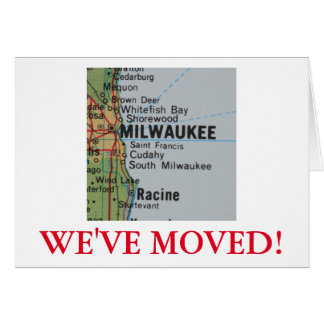 Milwaukee  We've Moved address announcement