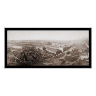 Milwaukee WI Harvester Photo 1907 Poster