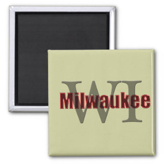 milwaukee wi red fridge magnets