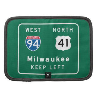 Milwaukee, WI Road Sign Planner