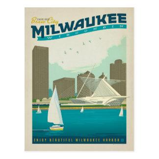 Milwaukee, WI Tarjeta Postal