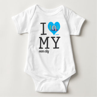 Milwaukee |  Wisconsin Baby Bodysuit