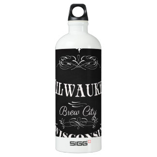 Milwaukee, Wisconsin - Brew City Water Bottle