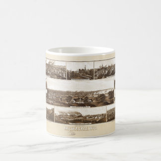 Milwaukee, Wisconsin by Beck & Pauli (1882) Coffee Mug