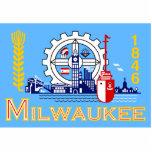 Milwaukee, Wisconsin, Estados Unidos señala por me Escultura Fotográfica