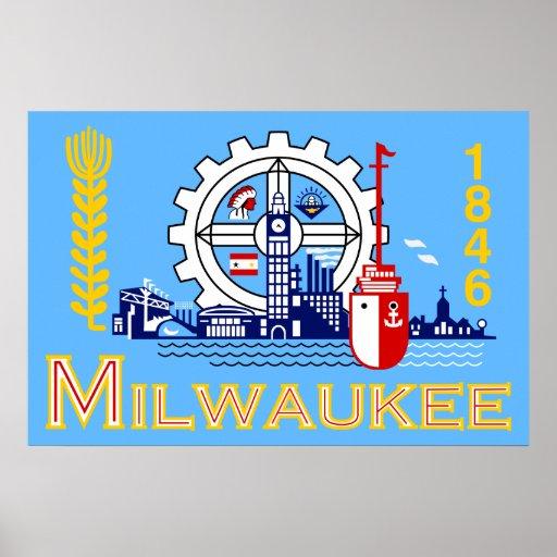 Milwaukee, Wisconsin, Estados Unidos señala por me Impresiones