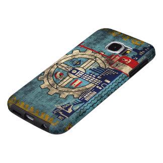 Milwaukee Wisconsin Grunge Samsung Galaxy S6 Case