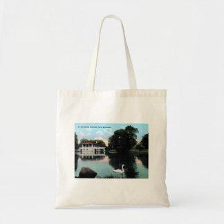 Milwaukee, Wisconsin, Humboldt Park, Vintage Tote Bag