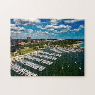 Milwaukee Wisconsin. Jigsaw Puzzle