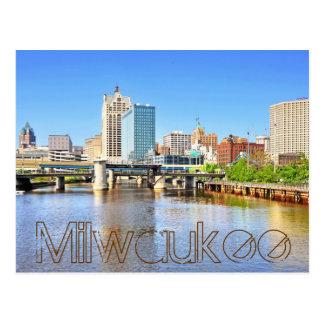 Milwaukee, Wisconsin, los E.E.U.U. Postales