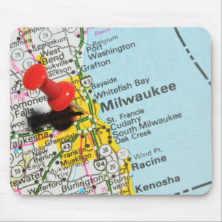Milwaukee, Wisconsin Mouse Pad
