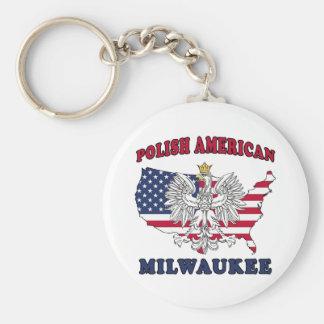 Milwaukee Wisconsin Polish Keychain