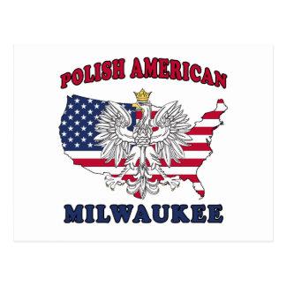 Milwaukee Wisconsin Polish Postcard