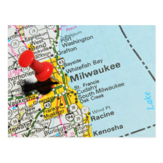 Milwaukee, Wisconsin Postcard