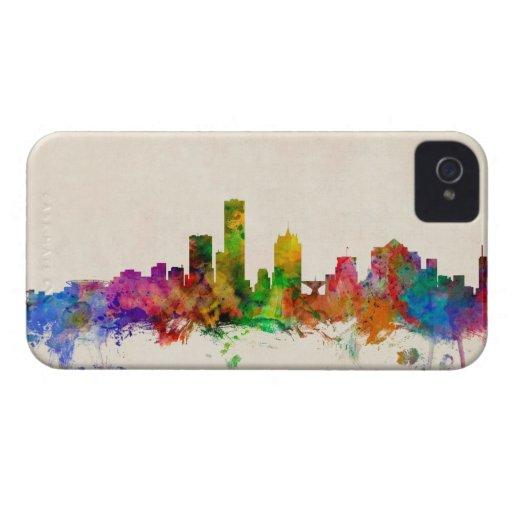 Milwaukee Wisconsin Skyline Cityscape Case-Mate iPhone 4 Case