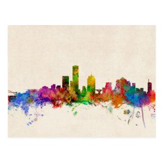 Milwaukee Wisconsin Skyline Cityscape Postcard