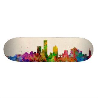 Milwaukee Wisconsin Skyline Cityscape Skate Board Deck