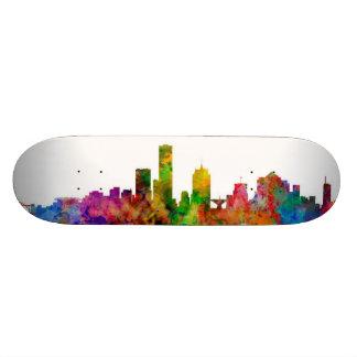 Milwaukee Wisconsin Skyline Skateboard Deck