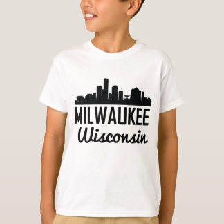 Milwaukee Wisconsin Skyline T-Shirt