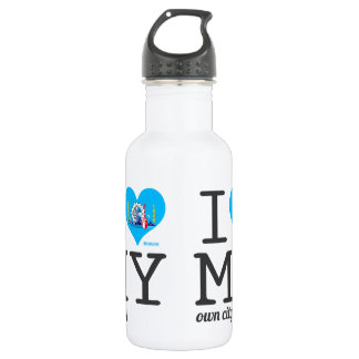 Milwaukee |  Wisconsin Stainless Steel Water Bottle