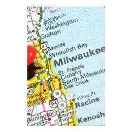 Milwaukee, Wisconsin Stationery
