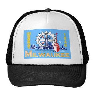 Milwaukee Wisconsin United States flag Hat
