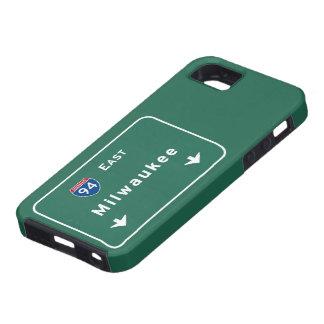 Milwaukee Wisconsin wi Interstate Highway Freeway iPhone SE/5/5s Case