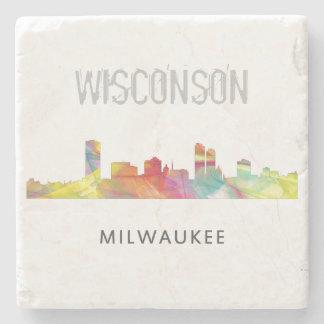 MILWAUKEE, WISCONSON SKYLINE WB1 - STONE COASTER