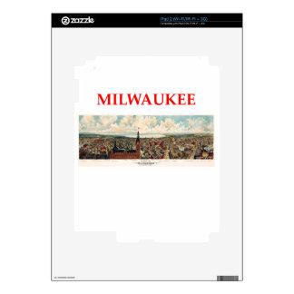 milwaukww iPad 2 skins