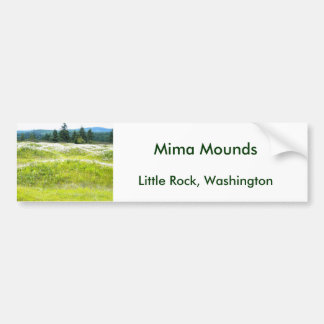 Mima Mounds Bumper Sticker