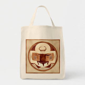 Mimbres Bat-Deer-Bison-Man Tote Bag