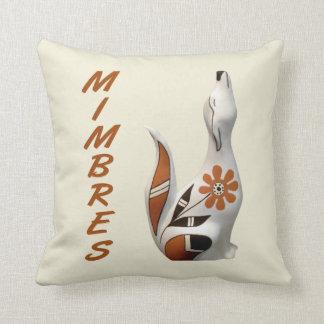 Mimbres Coyote Art Pillow
