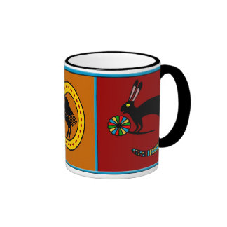 Mimbres Culture Mythological Mug