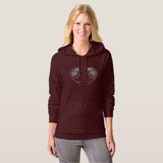 Mimbres Pottery Design Hoodie