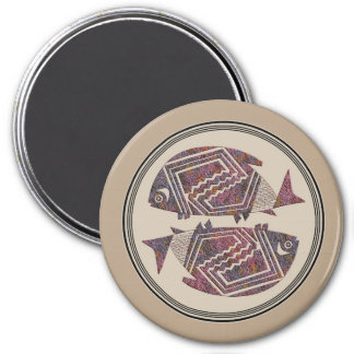 Mimbres Pottery Design Magnet