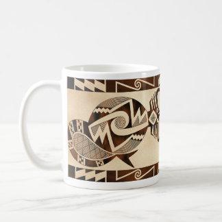 Mimbres Scorpion-Snake-Fish Coffee Mug