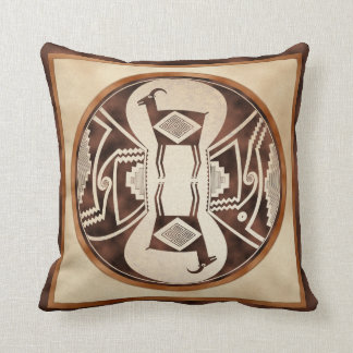 Mimbres Sheep Throw Pillow