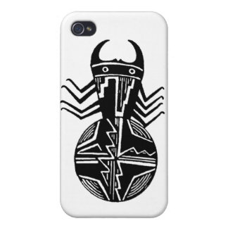 Mimbres Spider #3 Cover For iPhone 4