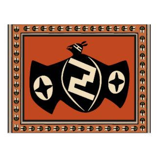 Mimbres Tribal Bat Postcard