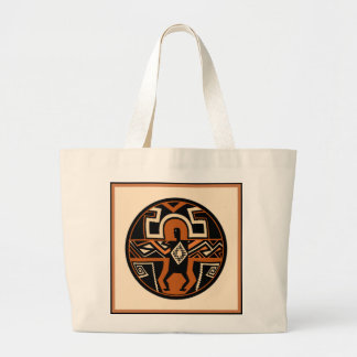 Mimbres Warrior Large Tote Bag