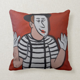 Mime 16 x 16 Square Pillow