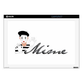 """Mime 17"""" Laptop Skins"""