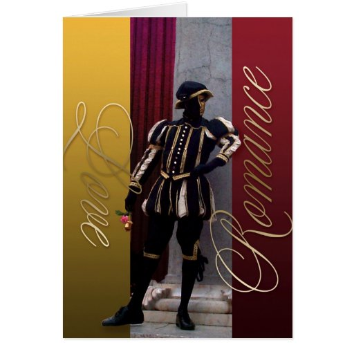 Mime Elegance Love and Romance Card