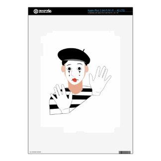 Mime iPad 3 Decal