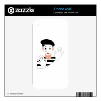 Mime iPhone 4 Skins