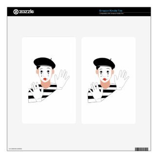 Mime Kindle Fire Decals