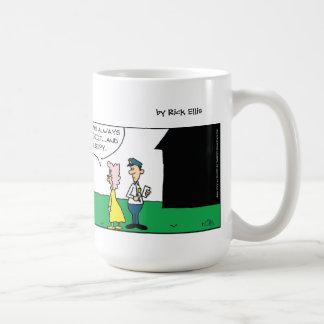 Mime Neighbor Classic White Coffee Mug