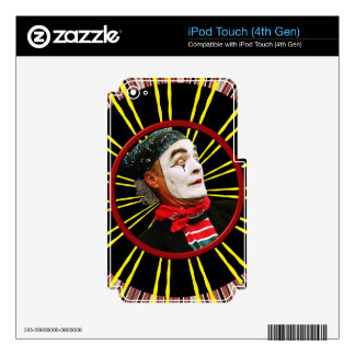 Mime Scared 2 iPod Touch 4G Skins