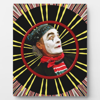 Mime Scared 2 Plaque
